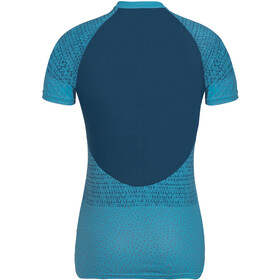 VAUDE Ligure Shirt Damen crystal blue